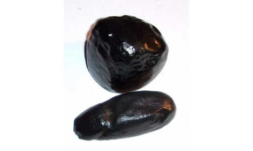 1/2 Pound Black Agate 50 to 75 MM 998E