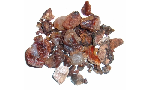 1/2 Pound Fire Agate Deer Creek Natural 5 to 35 MM 1027F