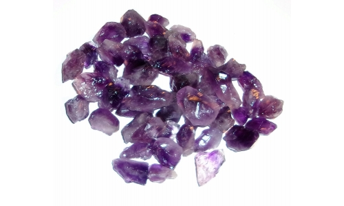 1/2 Pound Amethyst Natural 15 to 30 MM 1034F