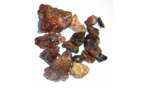 1/2 Pound Fire Agate Deer Creek Natural 15 to 50 MM 1073F
