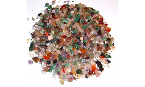 1/2 Pound Polished Gemstones 5 to 20 MM 1093F