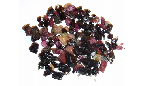 Tourmaline Mixed Rough 360 cts 5 to 20 MM 1098F