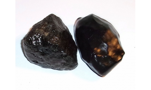 1/2 Pound Black Agate 55 MM 1105E