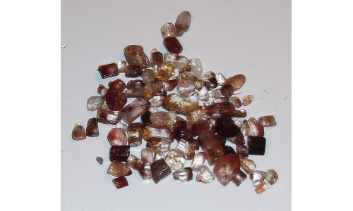 5 to 15 MM Brazilian Topaz Natural Rough 260 cts 1156F