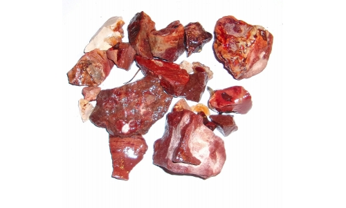 1/2 Pound Mexican Fire Opal Natural 10 to 55 MM 1159F
