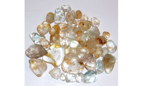10 to 25 MM African Riverbed Topaz Rough 900 cts 1168F
