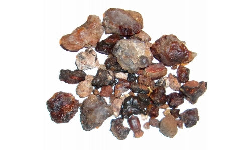 1/2 Pound Fire Agate Deer Creek Natural 10 to 35 MM 1171F