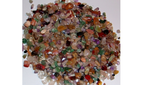 1/2 Pound Polished Gemstones 5 to 20 MM 1194F