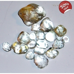8 to 25 MM African Topaz Fac..