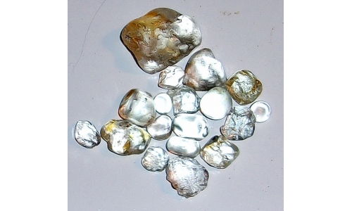 8 to 25 MM African Topaz Facet Grade Rough 150 cts 1199F