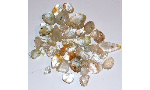 10 to 28 MM African Riverbed Topaz Rough 460 cts 1200F