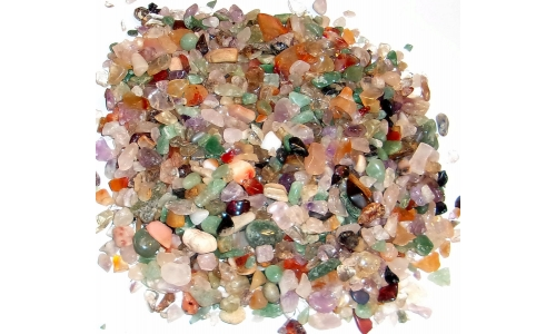 1/2 Pound Polished Gemstones 5 to 20 MM 1229F