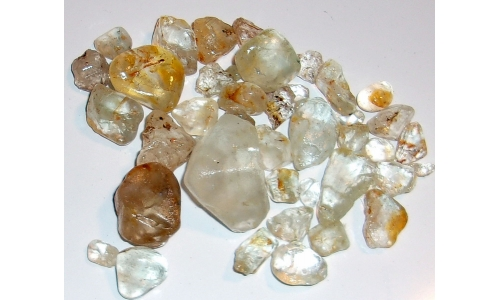 10 to 35 MM African Riverbed Topaz Rough 670 cts 1243F