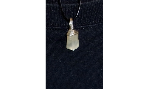 Moonstone in Silver 30X15X10 MM Hand Made 1298F
