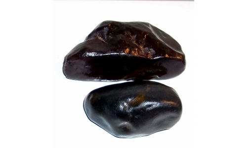1/2 Pound Black Agate 65 to 90 MM 1307F