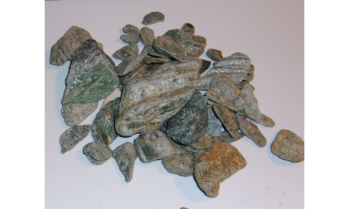 1/2 Pound Solid Green Mica 15 to 75 MM North Carolina 1321F
