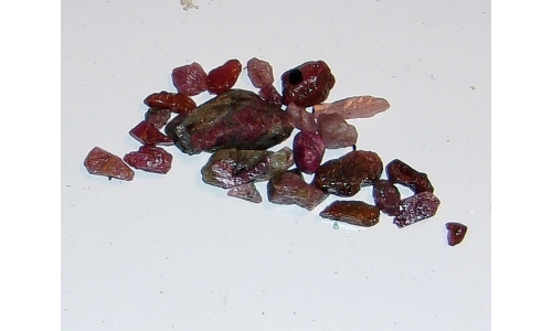 Natural Ruby North Carolina 50 cts 4 to 24 MM 1327F