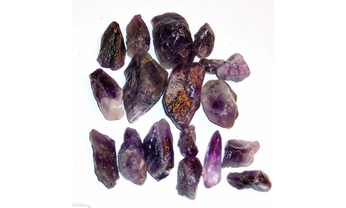 1/2 Pound Super Seven Amethyst Melody Stone 25 to 55 MM 1330F