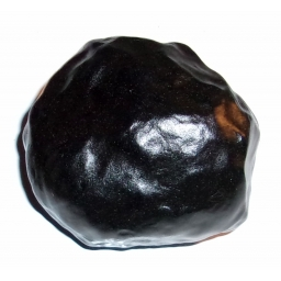 1/2 Pound Black Agate 60x55x..