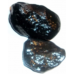 1/2 Pound Black Agate 60 to ..