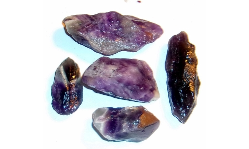 1/2 Pound Super Seven Amethyst Melody Stone 40 to 70 MM 1519F