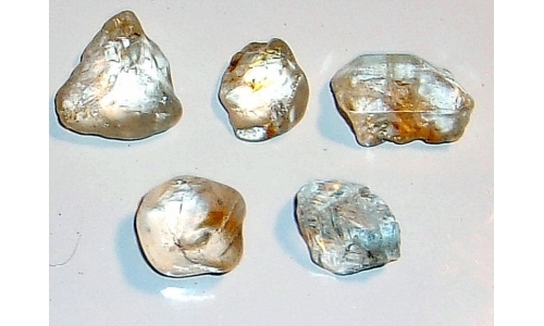12 to 18 MM African Riverbed Topaz Facet Grade Rough 60 cts 1550F