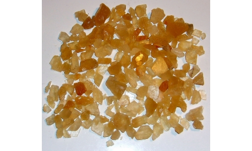 Honey Calcite Natural 10 to 20 MM 450 cts 1656F
