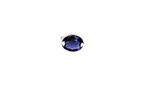Iolite Loose Faceted Oval  1 ct 8X6X5 MM 1696F