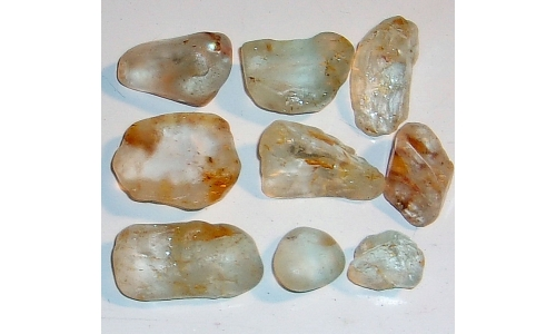 15 to 30 MM African Riverbed Topaz Rough 350 cts 1711F
