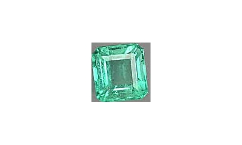 1.25 cts 9x7x4 mm Loose faceted Colombian Emerald 1798F