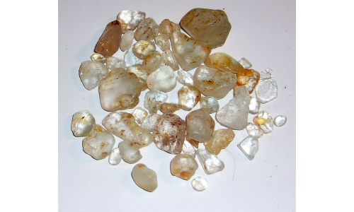 5 to 25 MM African Riverbed Topaz Rough 550 cts 022G