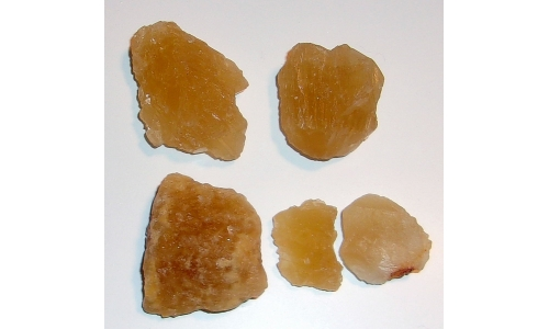 Honey Calcite Natural 26 to 47 MM 560 cts 83G