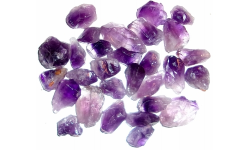 Amethyst Natural 15 to 35 MM 550 cts 170G