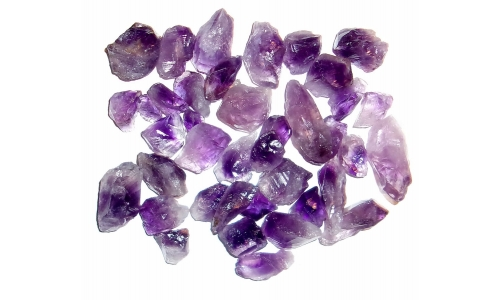 Amethyst Natural 15 to 35 MM 500 cts 175G