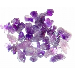 Amethyst Natural 15 to 30 MM..