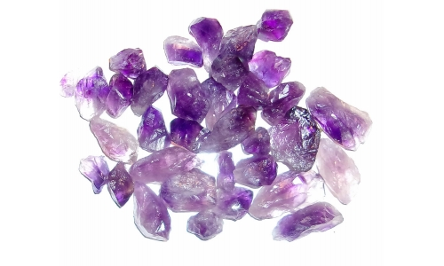 Amethyst Natural 15 to 30 MM 450 cts 176G