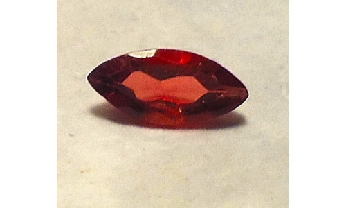 Spessartine Garnet .65 ct 7x5x3 mm Nigerian Loose faceted 357A