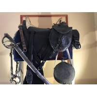 1861 Dated Civil War McClellan Cavalry Saddle Model 1859, Allegheny Arsenal