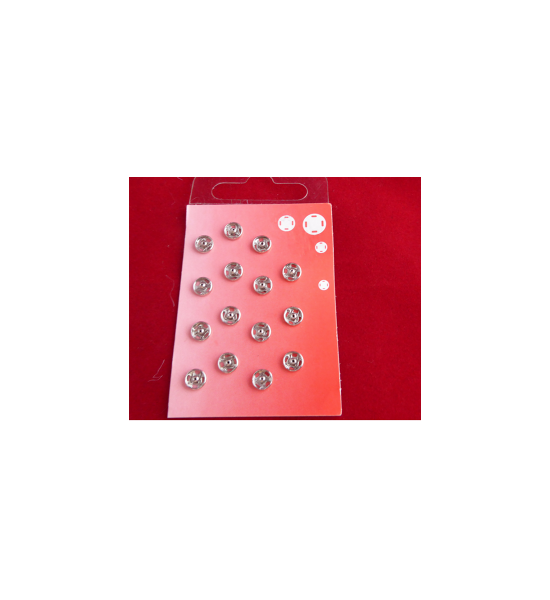 Uniform Pop Fasteners