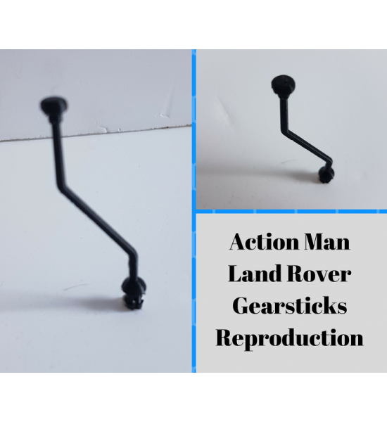 Reproduction Gearstick for Action Man Land Rover