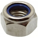 6mm Nyloc Nut st/st
