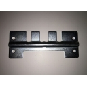Side Panel Spring Clip Plate in Zinc