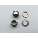 Engine Bar Nuts & Wavy Washer Set st/st MB