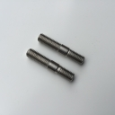 Exhaust stud for round ports 7x33mm