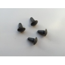 Rear Frame Grommets grey Series 1 & 2 Scootopia