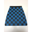 Mudflap - Chequered - Blue & Black