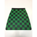 Mudflap - Chequered - Green & Black