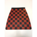 Mudflap - Chequered - Red & Black