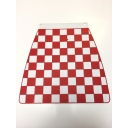 Mudflap - Chequered - Red & White
