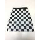 Mudflap - Chequered - Black & White